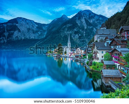 Nice view on Hallstatt
