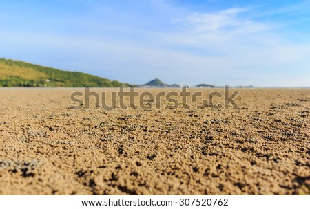 nice view sea beach and shore nature background