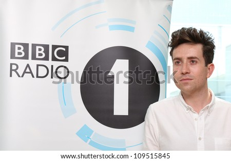 Nick Grimshaw is announced as the new presenter of Radio 1's Breakfast show at BBC New Broadcasting House London, England. 11/07/2012 Picture by: Henry Harris / Featureflash