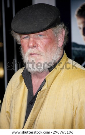 Nick Nolte at the Los Angeles premiere of 'Gangster Squad' held at the Grauman's Chinese Theatre in Hollywood on January 7, 2013.   - stock photo