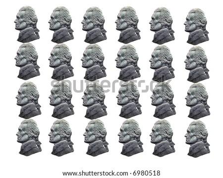 Nickel Heads - stock photo