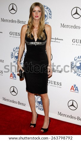 Nicky Hilton at the 30th Carousel of Hope Ball held at the Beverly Hilton Hotel in Beverly Hills, California, United States on October 25, 2008.  - stock photo