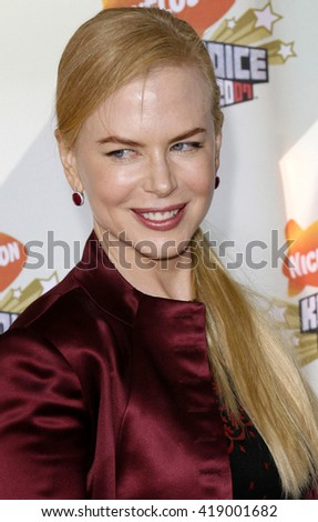Nicole Kidman at the Nickelodeon's 20th Annual Kids' Choice Awards held at the Pauley Pavilion in Westwood, USA on March 31, 2007.