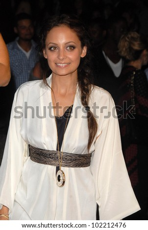 Nicole Richie at a Celebration of Creative Minds hosted by Bing, BOA Steakhouse, West Hollywood, CA. 06-22-10 - stock photo