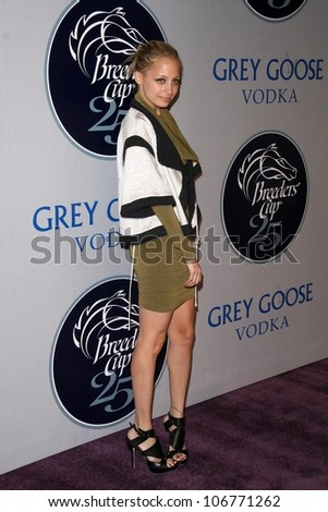 Nicole Richie  at the 2008 Breeders' Cup Winners Circle Gala. Hollywood Palladium, Hollywood, CA. 10-23-08 - stock photo
