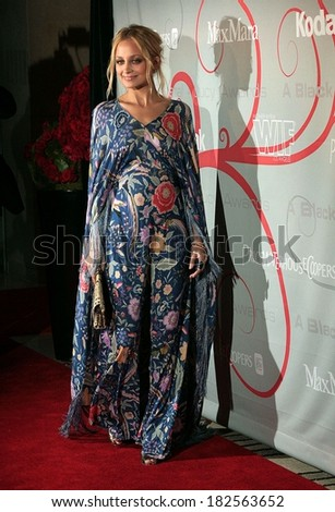 Nicole Richie, in vintage Missoni dress, at The Women in Film 2008 Crystal & Lucy Awards, Beverly Hilton Hotel, Los Angeles, June 17, 2008 - stock photo
