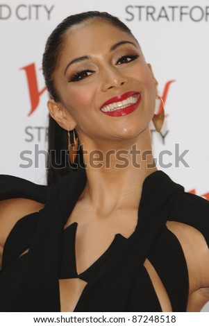 Nicole Scherzinger at the Grand Opening of the Westfield Stratford shopping centre, London. 9/13/2011  Picture by: Steve Vas / Featureflash