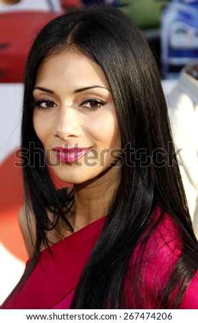 Nicole Scherzinger at the Los Angeles premiere of 'Cars 2' held at the El Capitan Theatre in Hollywood on June 18, 2011.