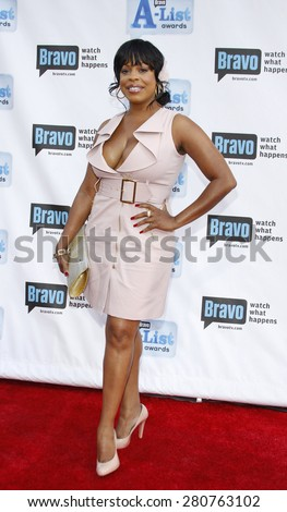 Niecy Nash at the 2009 Bravo's A-List Awards held at the Orpheum Theatre in Los Angeles on April 5, 2009.