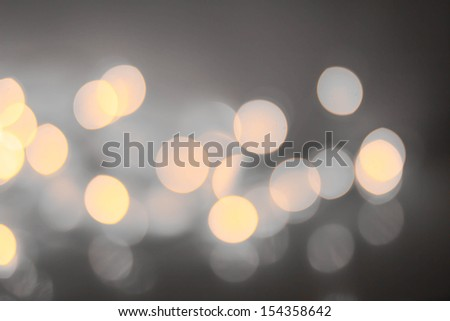 Night Abstract defocused lights bokeh background. High Resolution. - stock photo