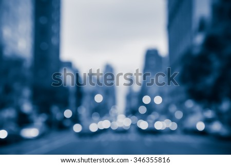 NIGHT CITY BACKGROUND - stock photo
