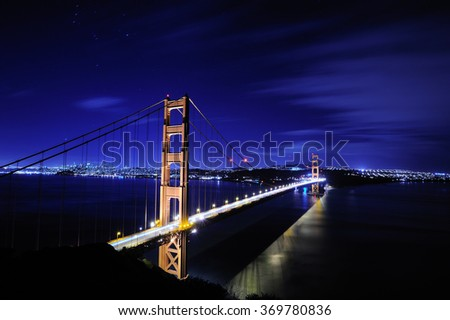 Night Golden Gate