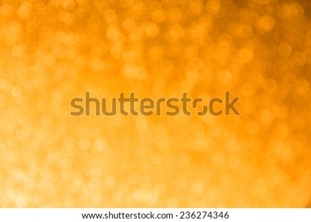 night light bokeh of lights decorate the Christmas and New Year every year. - stock photo
