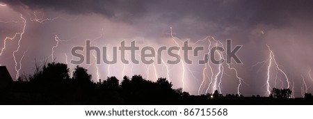Night lightnings