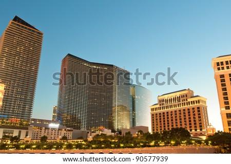 Night scenes from Las Vegas - stock photo