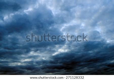 Night sky. - stock photo