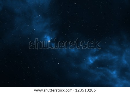 Night sky abstract background - Universe filled with stars, nebula and galaxy