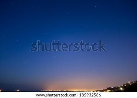 Night view - stock photo