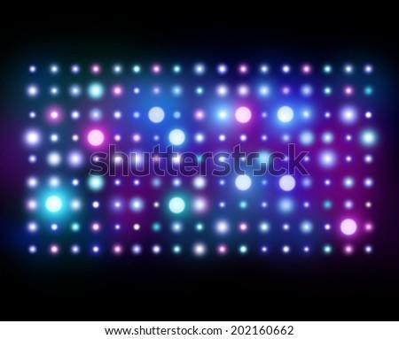Nightclub Background. Abstract Lights - stock photo