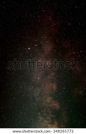 Nightsky With Aquila and Milky Way