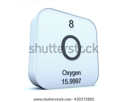 Nitrogen element on white square icon 3D rendering