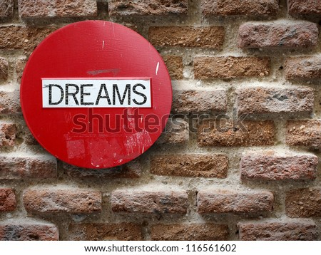 No dreams - stock photo