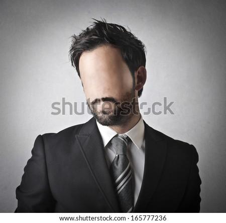 No Face - stock photo
