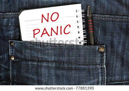 No panic message on notepad