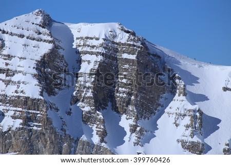 No Shadows, Wyoming - stock photo