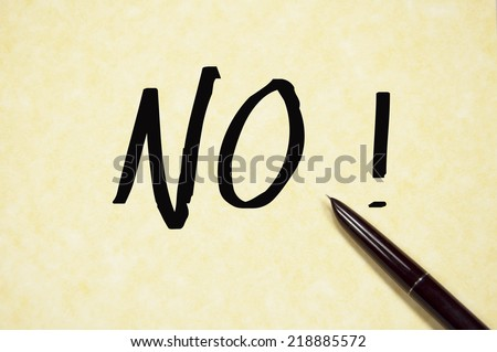 no word write on paper  - stock photo