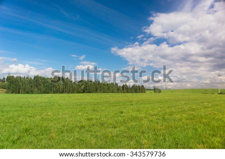 Nobody Outside Scenic View  - stock photo