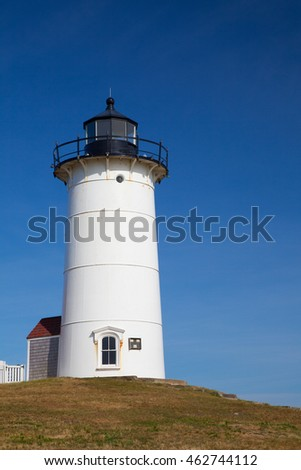 Nobska Light, also known as Nobska Point Light is a lighthouse located in Woods Hole on the southwestern tip of Cape Cod, Massachusetts.