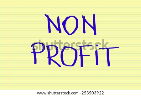 Non Profit Concept - stock photo