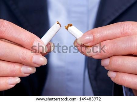 Non Smoker - stock photo