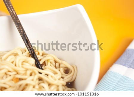 Noodle - stock photo