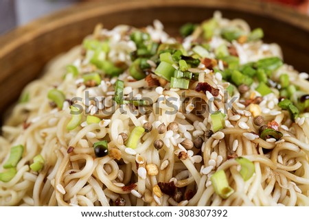 NOODLES - FOOD PHOTOGRAPHY - FITNESS MENU  - stock photo