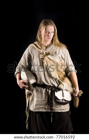 Nordic Warrior - stock photo