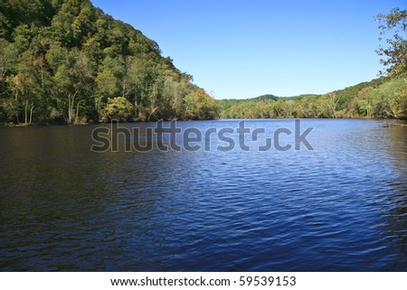 Norris Dam State Park, Lake City, Tennessee - stock photo
