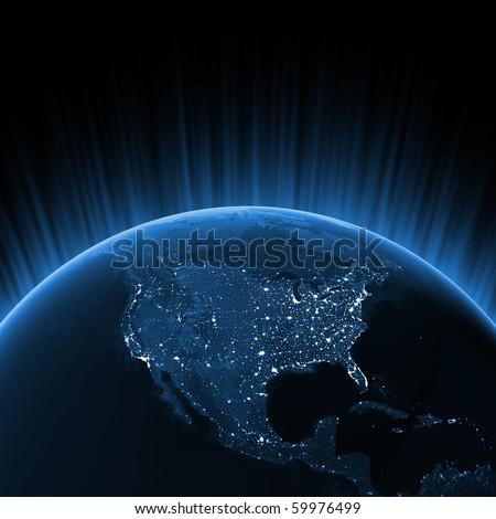 North America concept - stock photo