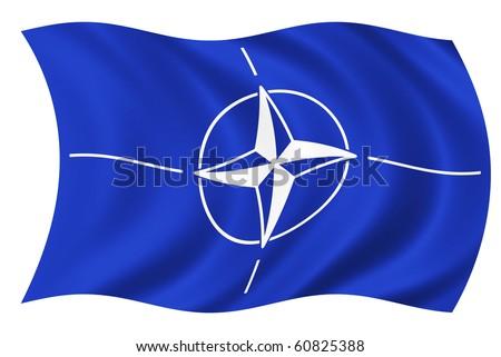North Atlantic Treaty Organization - stock photo