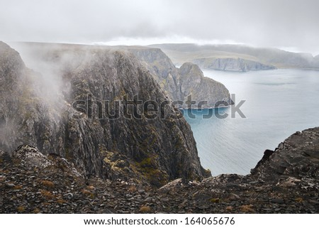 north cape - stock photo