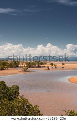 North Queensland Coast, near Port Douglas, Queensland, Australia - stock photo