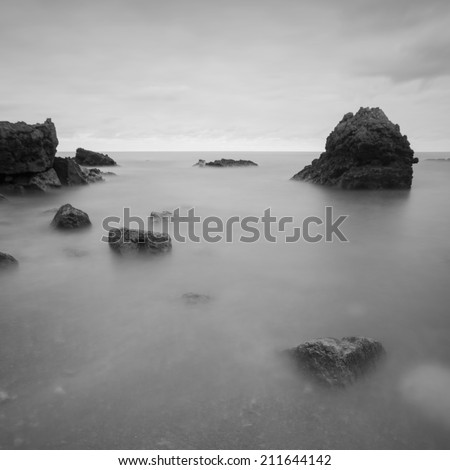 North Spain seascape
