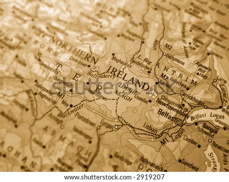 Northern Ireland - stock photo