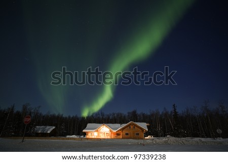 Northern Lights in March 2012, Alaska