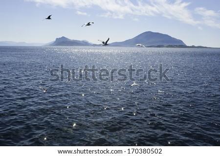Norway view  Kilboghamn  - stock photo