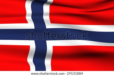 Norwegian Flag.