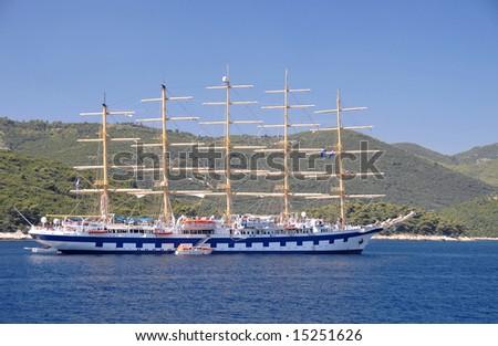 Nostalgic Sailboat - stock photo