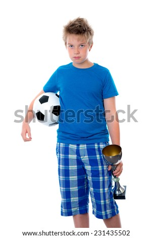 not good soccer play - stock photo