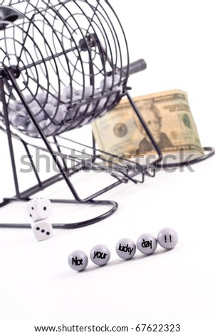 Not Your Lucky Day - stock photo